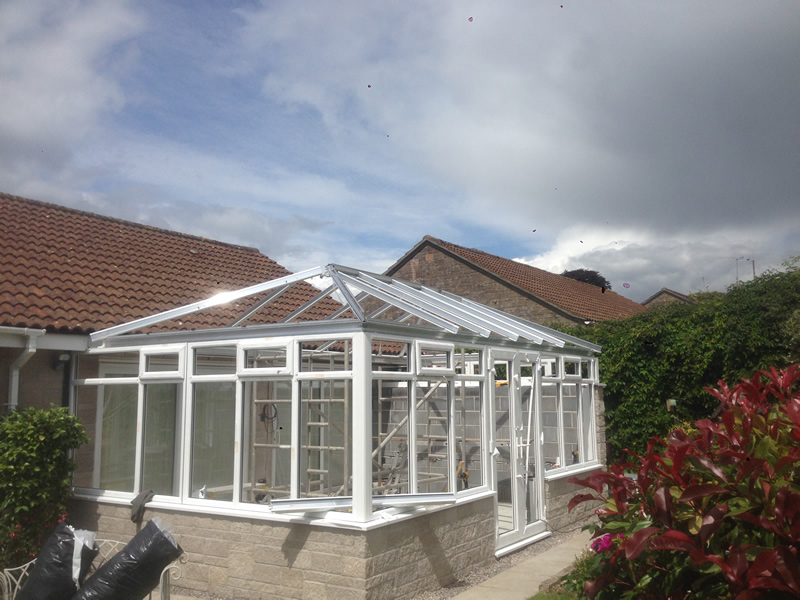 Pvcu Conservatory Installations In Somerset Rbright Windows
